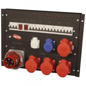 Силовой дистрибьютор питания EDS R 551AV