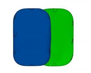 Хромакей складной Collapsible 1.8x2.1м BLUE GREEN LL LC5987